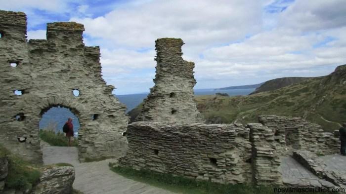 El castillo de Tintagel