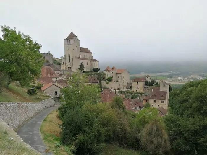 saint cirq lapopie, midi pyrenees