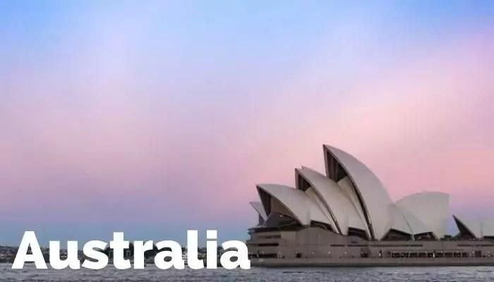 Nos vamos a Australia