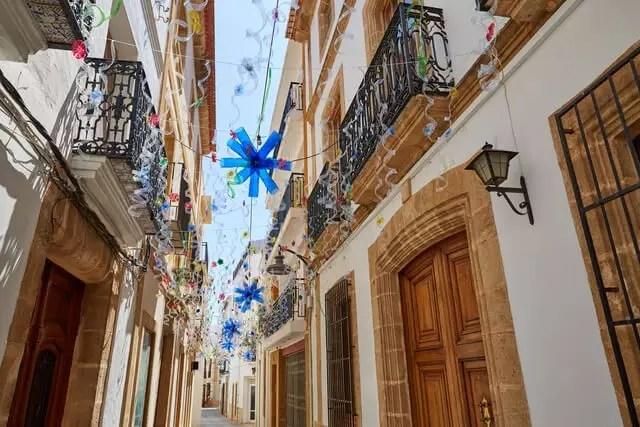 Jávea pueblo costero Alicante