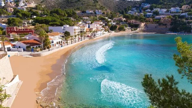 Moraira pueblo costero Alicante