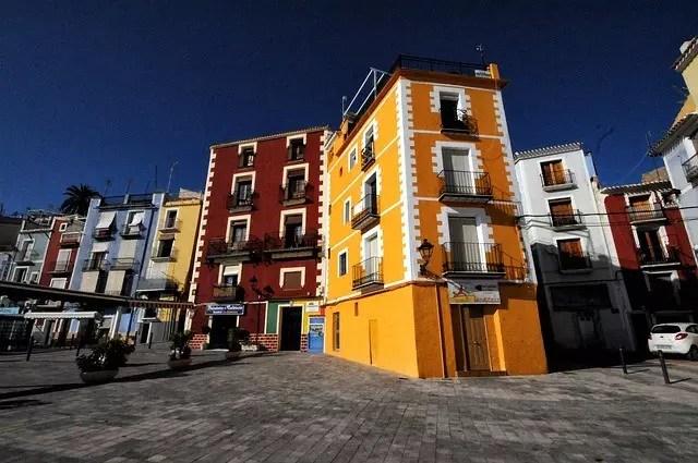 Villajoyosa pueblo costero Alicante