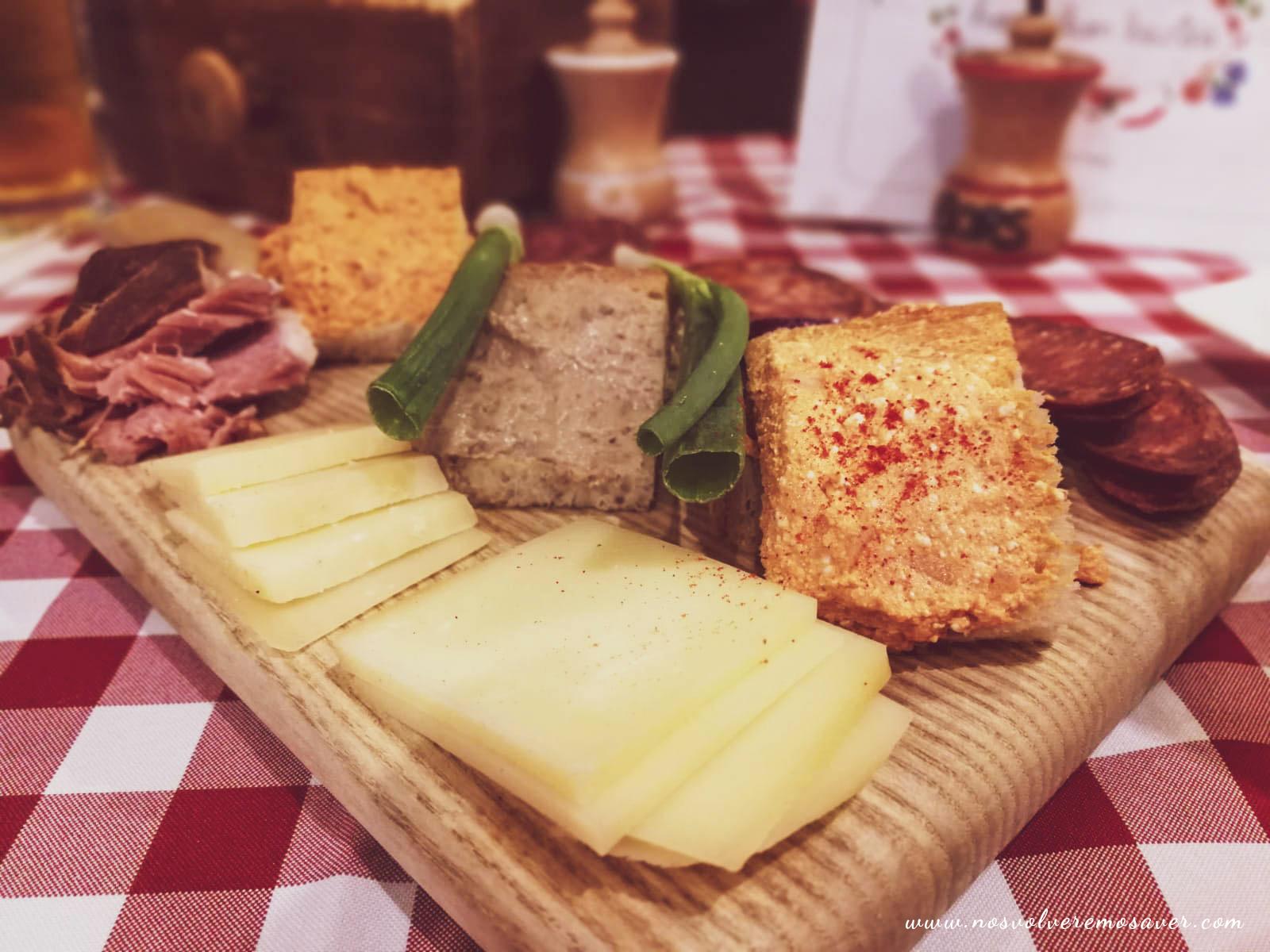Presupuesto comida en Budapest