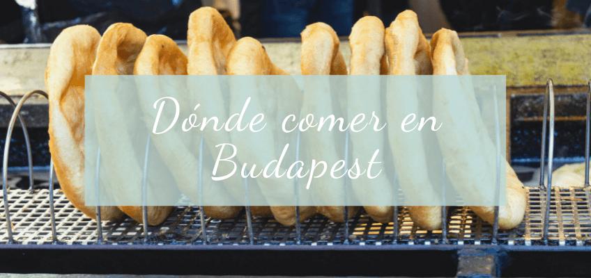 Dónde comer en Budapest