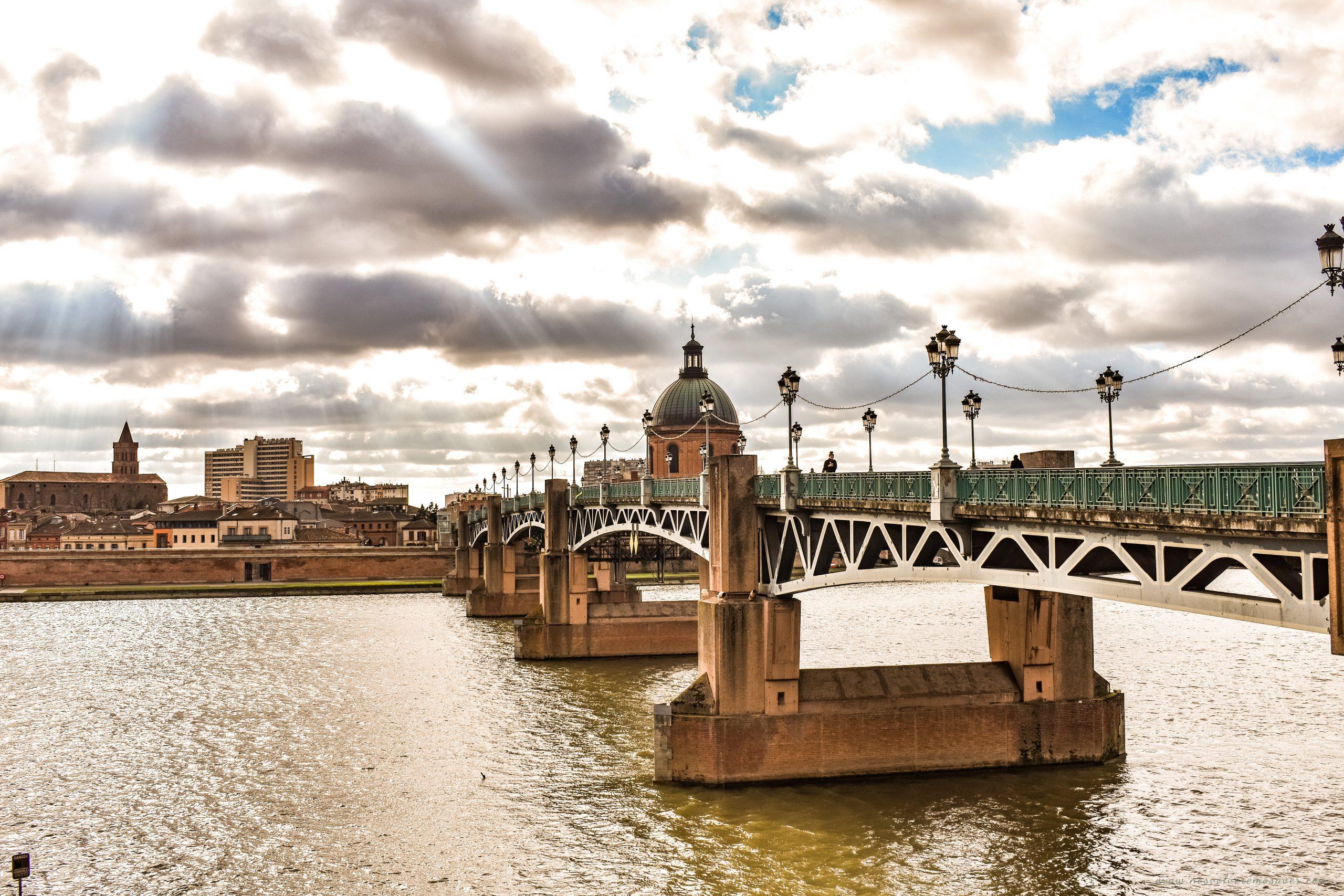 río Garona, Toulouse