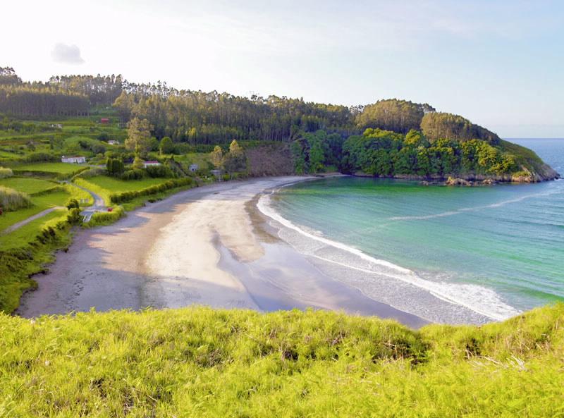 Playa de Fornos (Cariño)   A Coruña - Galicia
