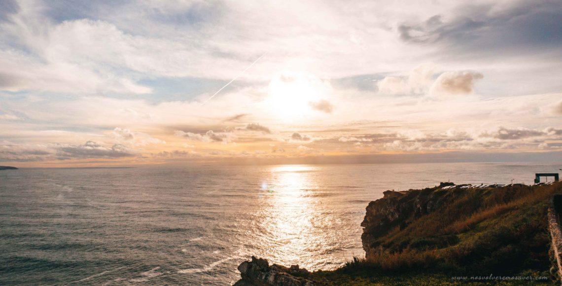 Puesta de sol en Nazaré | Portugal