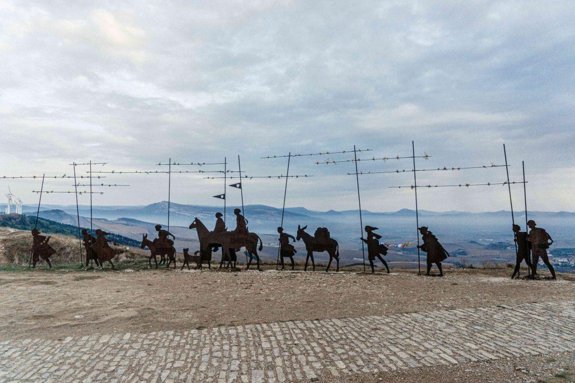 Camino de Santiago sola