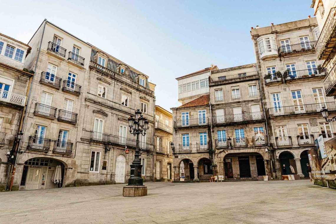 Praza da Constitución (Casco Antiguo, Vigo)