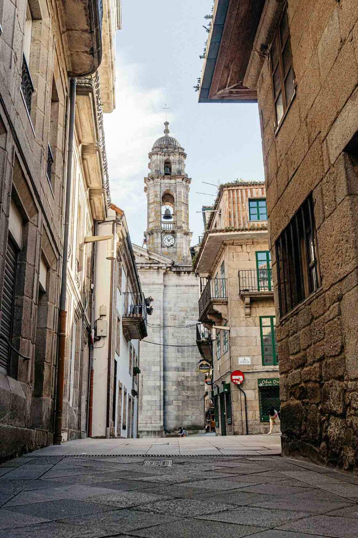 Casco antiguo de Vigo (Rúa Real)