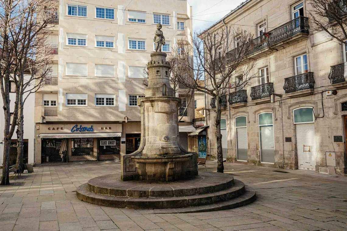 Praza da Princesa (Casco antiguo, Vigo)