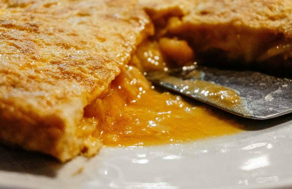 Tortilla de Betanzos en Casa Miranda