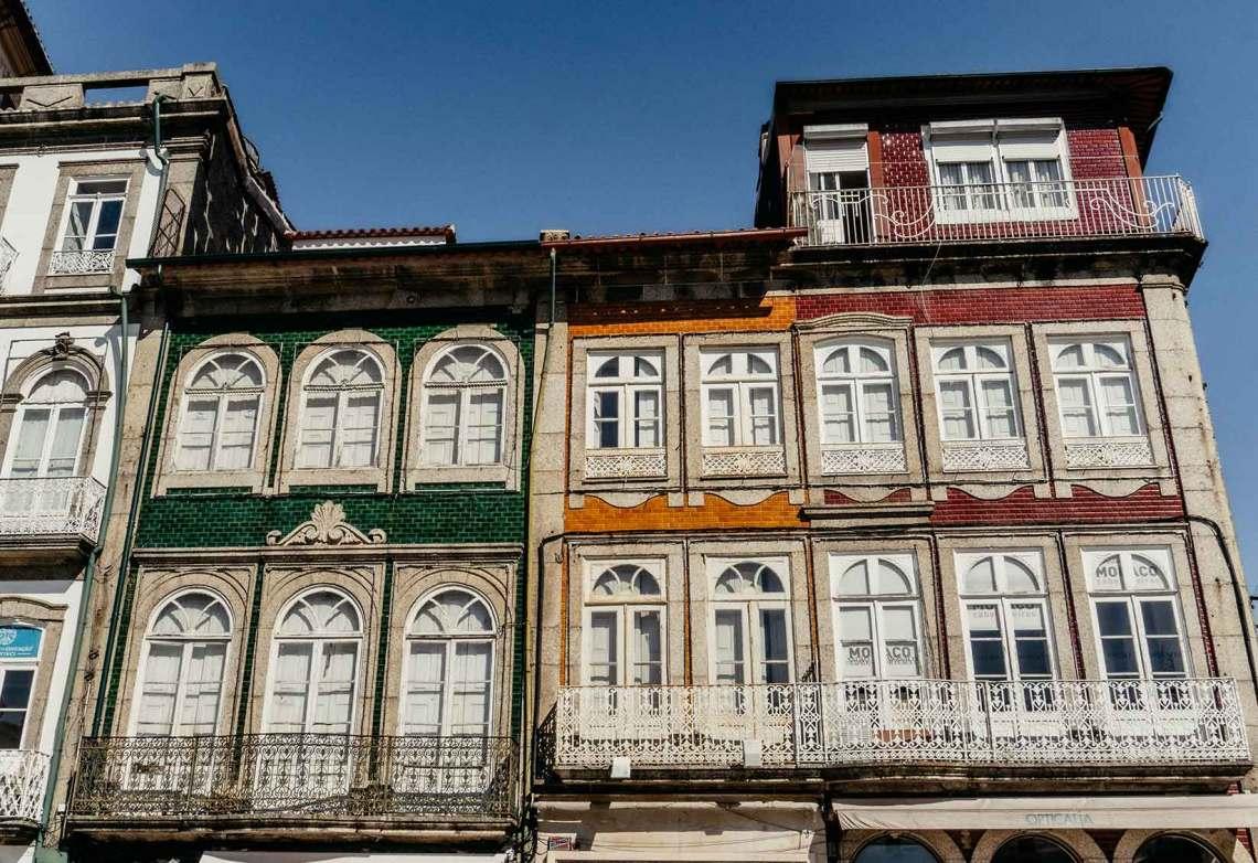 Casas de azulejos portuguesas