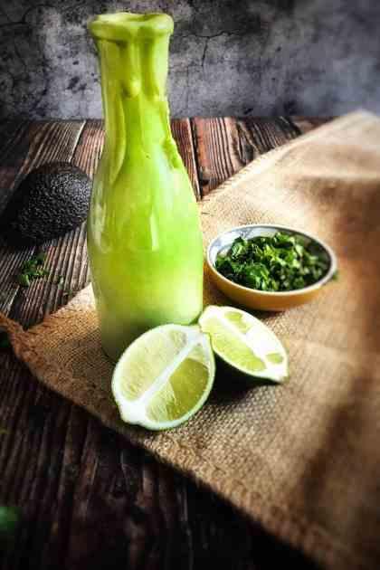 lime avocado dressing (vegan)