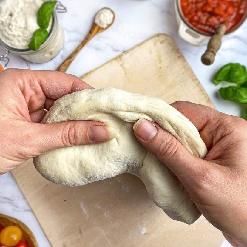 best vegan pizza dough