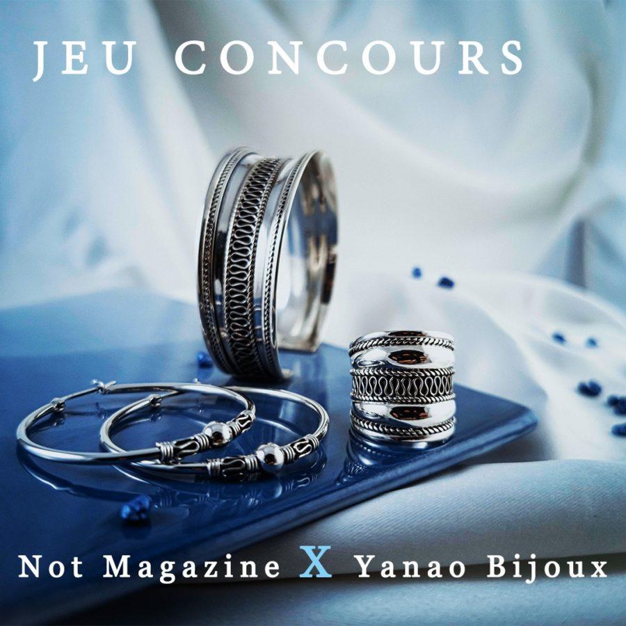 [CLOTURÉ] Not Magazine x Yanao Bijoux