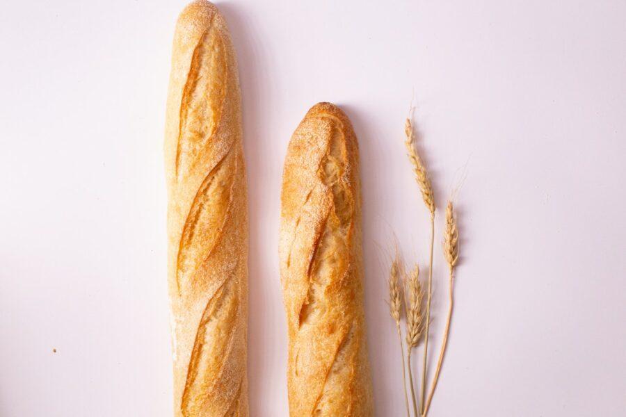 La baguette française, symbole de la France