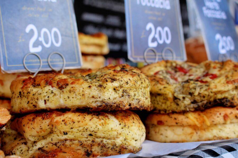 Foccacia, un pain originaire d'Italie
