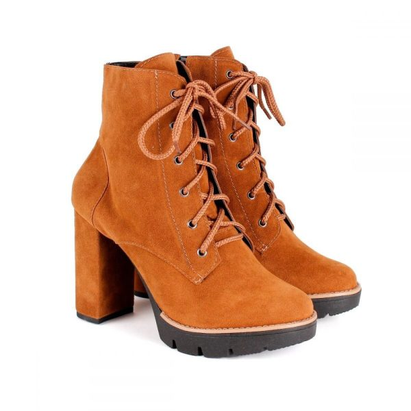 154526848 BOTA COTURNO TRATORADO FEMININA CARAMELO – Not-me Shoes