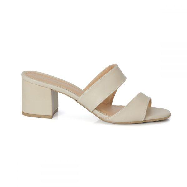 tamanco, sandália tiras cruzadas, sandália nó, sandália verão, anos 8 salto bloco, rasteirinha, SANDÁLIA MINIMAL, CORAL, OFF WHITE