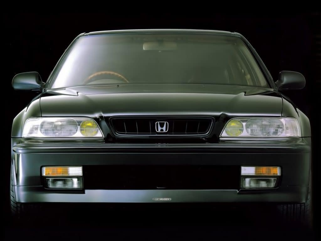 Legend - No. not Will Smith running around on his own. The Honda.