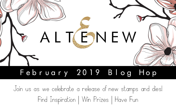 Altenew February 2019 Blog Hop + Giveaway