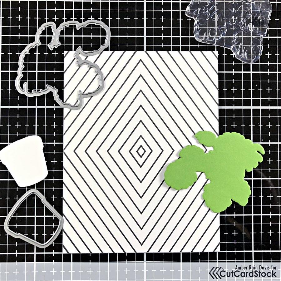 The Stamp Market Diamond Design Background Stamp