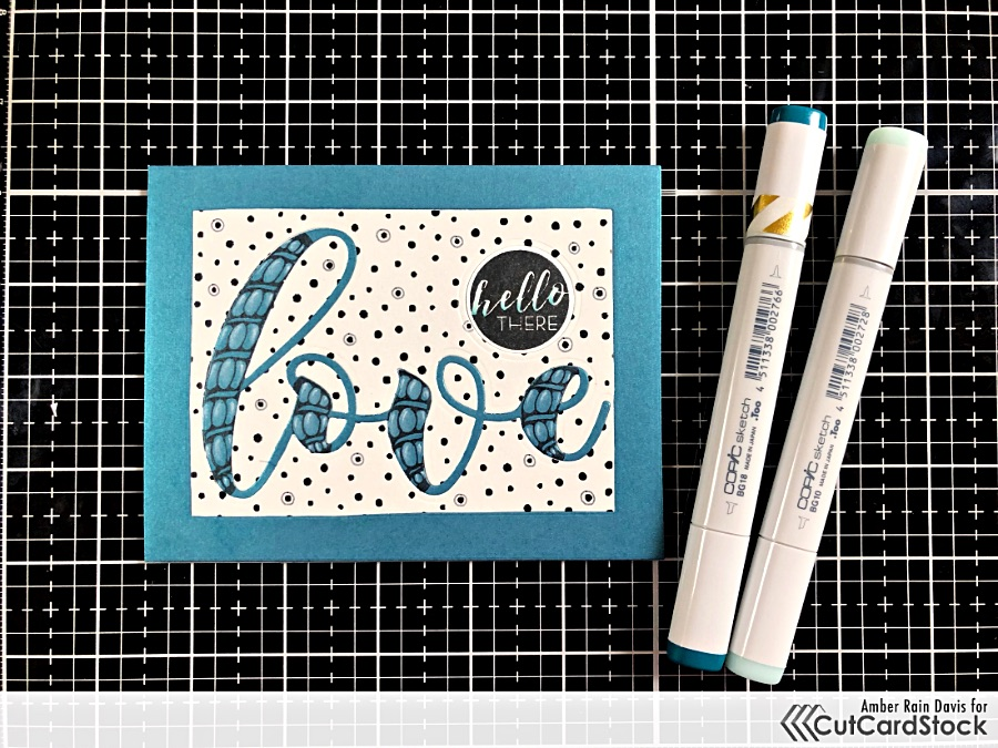 Altenew Circle Sentiments Stamp Set