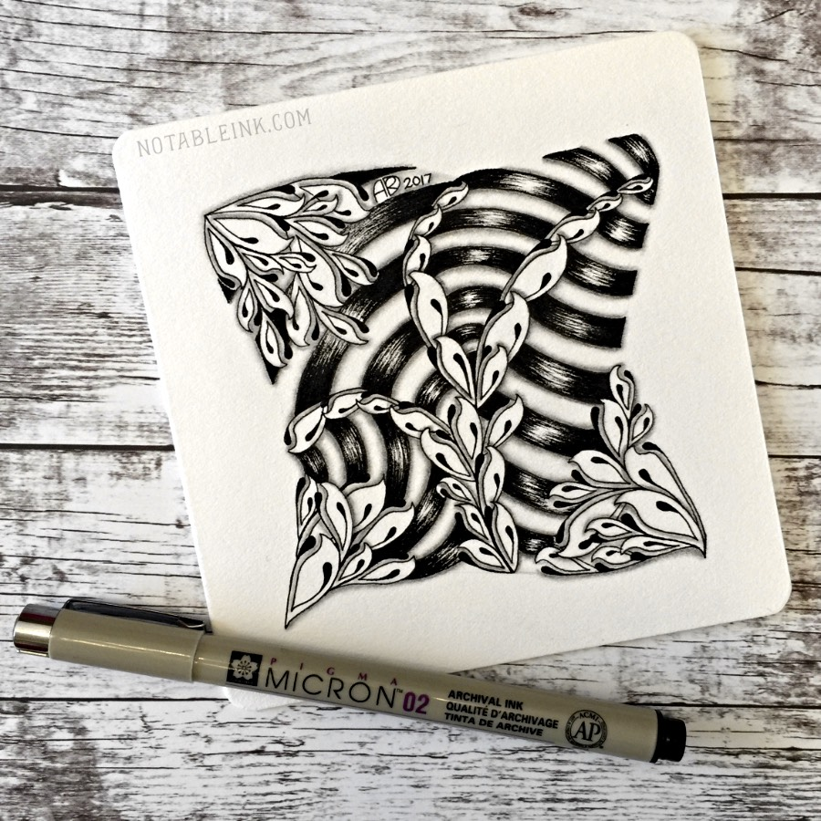 Calais Zentangle® Step Out