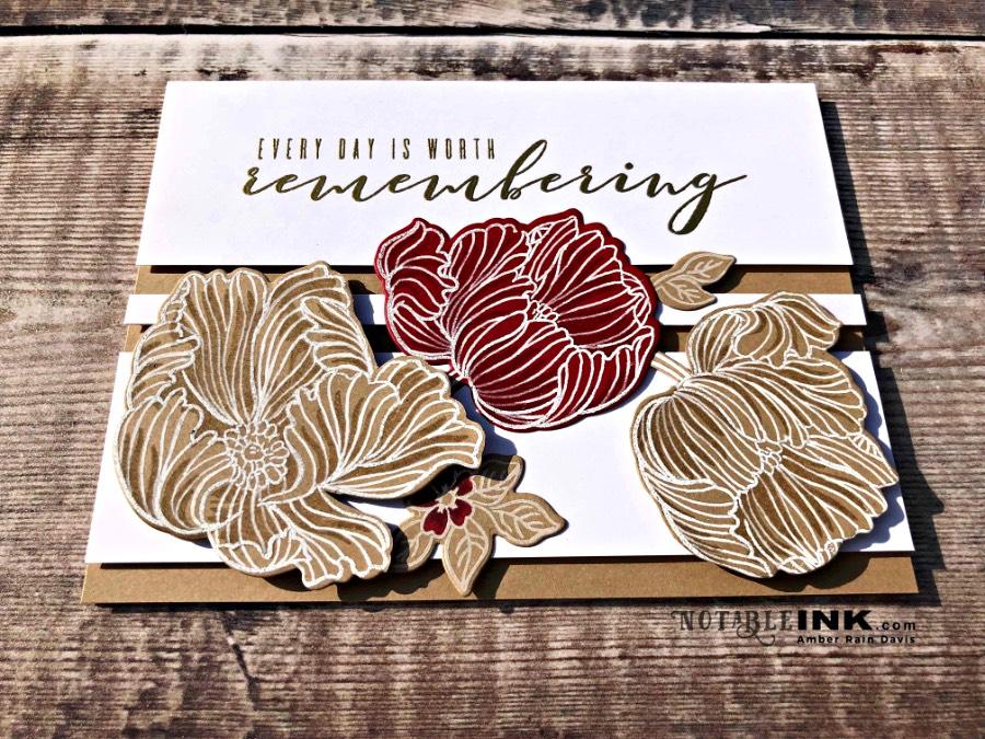Zentangle® and Altenew Build-A-Flower: Poppy