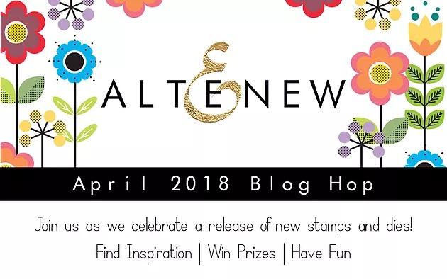 Altenew April 2018 Blog Hop