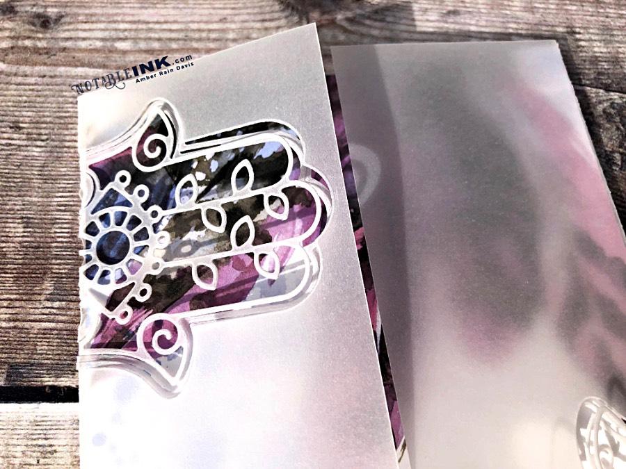 Partial Die Cut Gatefold Card
