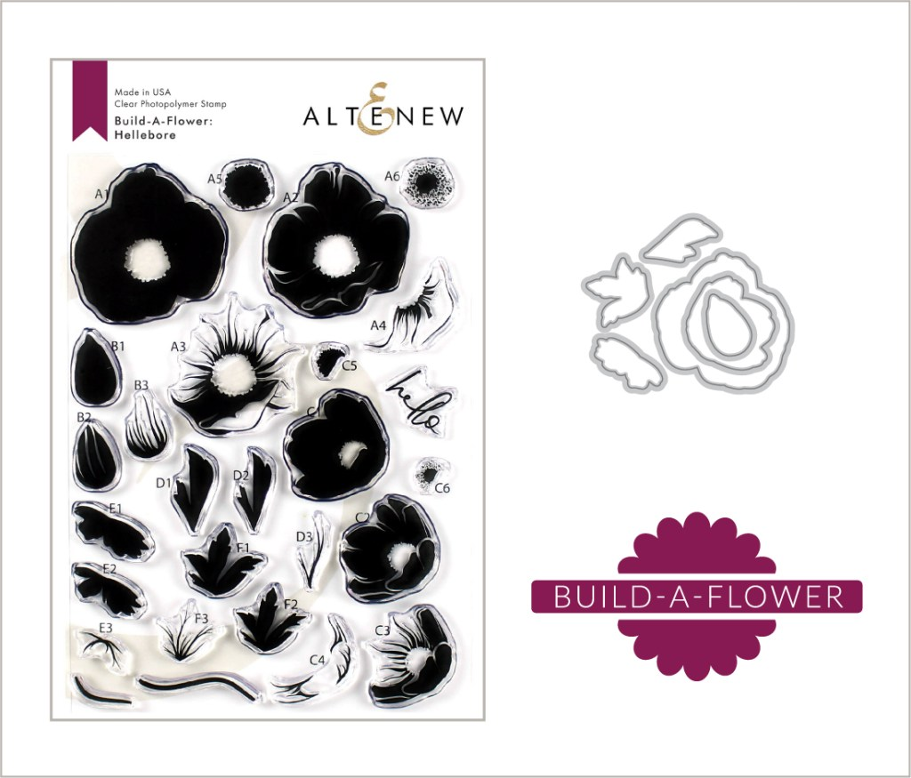 Altenew Build-A-Flower: Hellebore