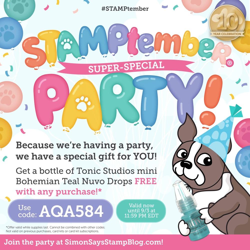 Simon Says Stamp STAMPtember Promo Code