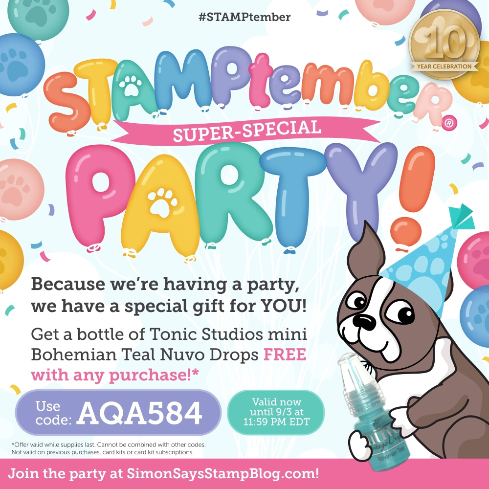 Simon Says Stamp STAMPtember Promo Code