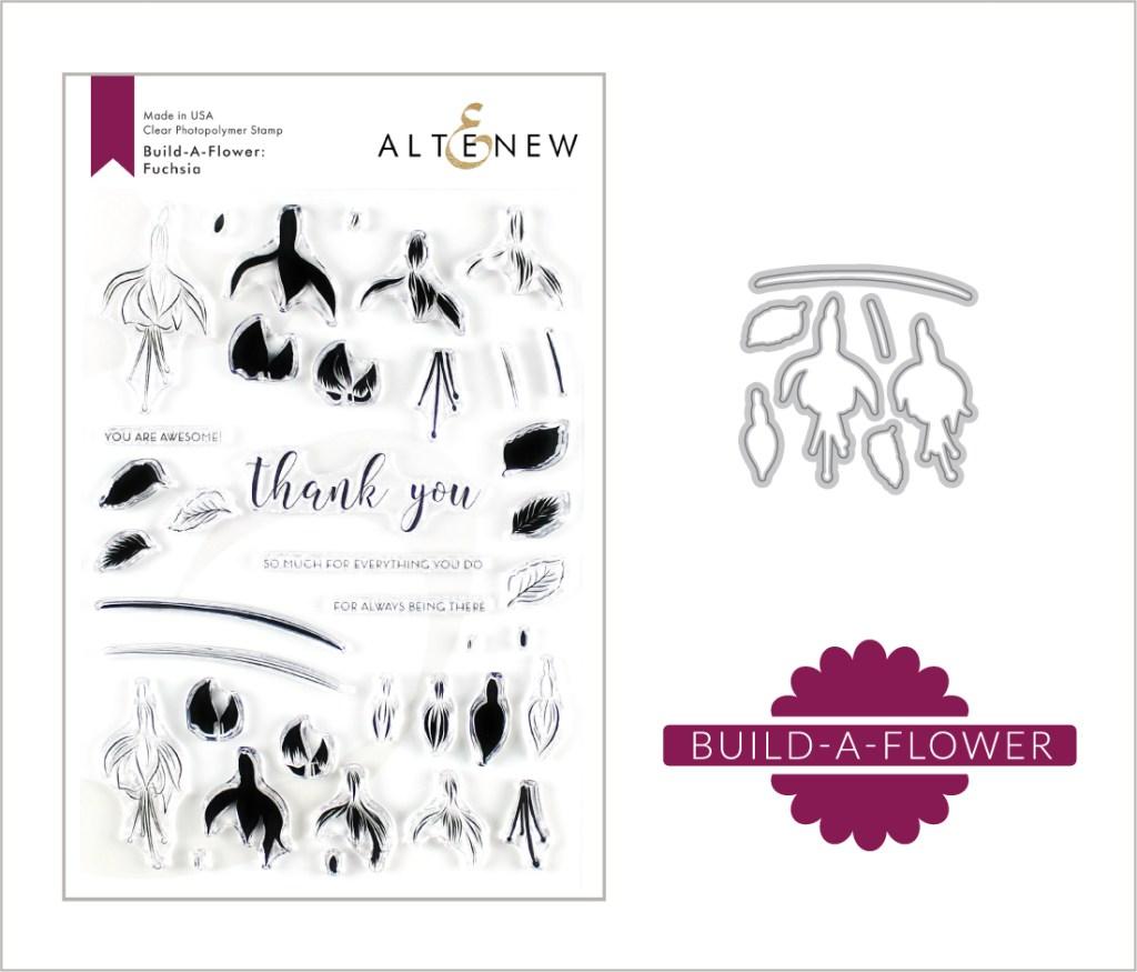 Altenew Build-A-Flower: Fuchsia