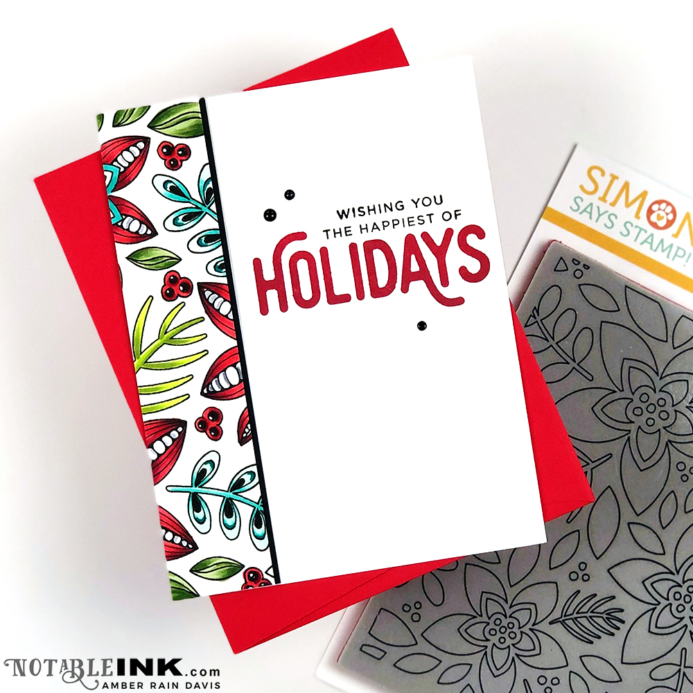 Deck the Halls with Zentangle & Copics