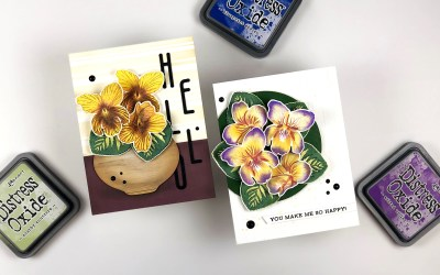 PINTEREST | My Favorite Stamp Layering Technique | 50 Cards 50k
