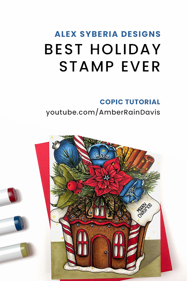 PINTEREST | Best Holiday Stamp Ever | Copic Tutorial