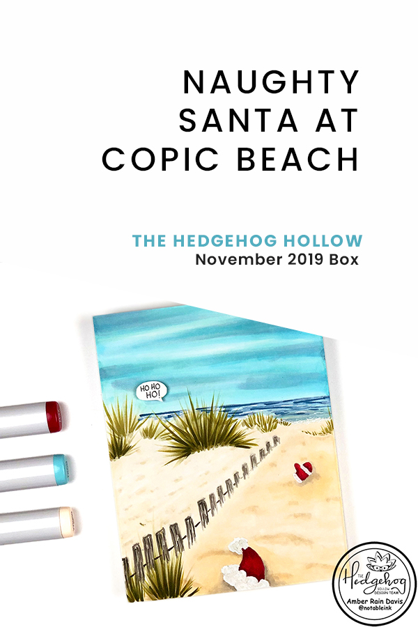 PINTEREST | Naughty Santa at Copic Beach
