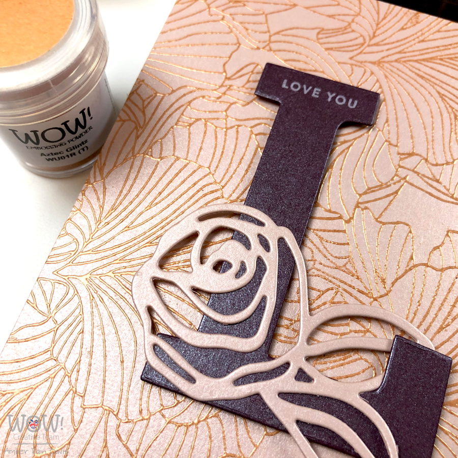 Elegant Embossing with WOW! Aztec Glintz