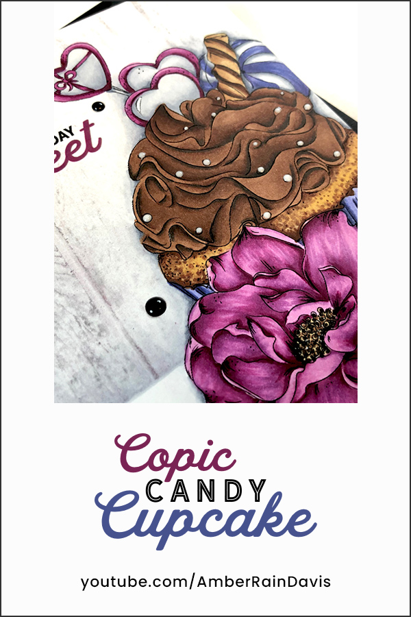 PINTEREST Copic Candy Cupcake