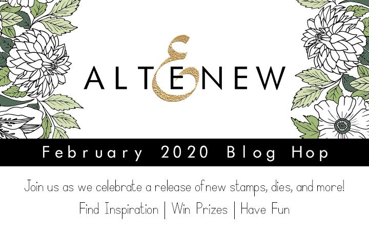 Altenew February 2020 Blog Hop + Giveaway