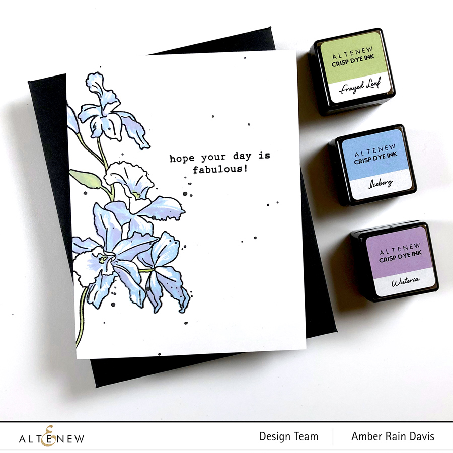 Altenew Color Connection with Amber | CAS One Layer Cards - Layer Stamping