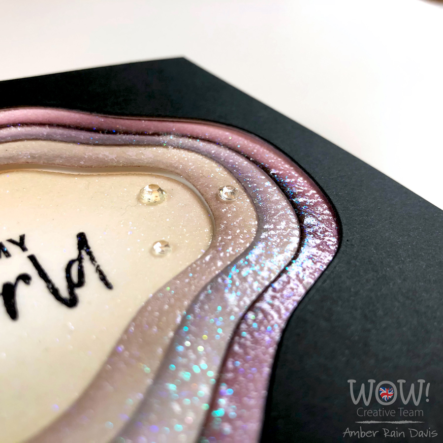 WOW! Clear Hologram Sparkle & Clear Sparkle Embossing Powder