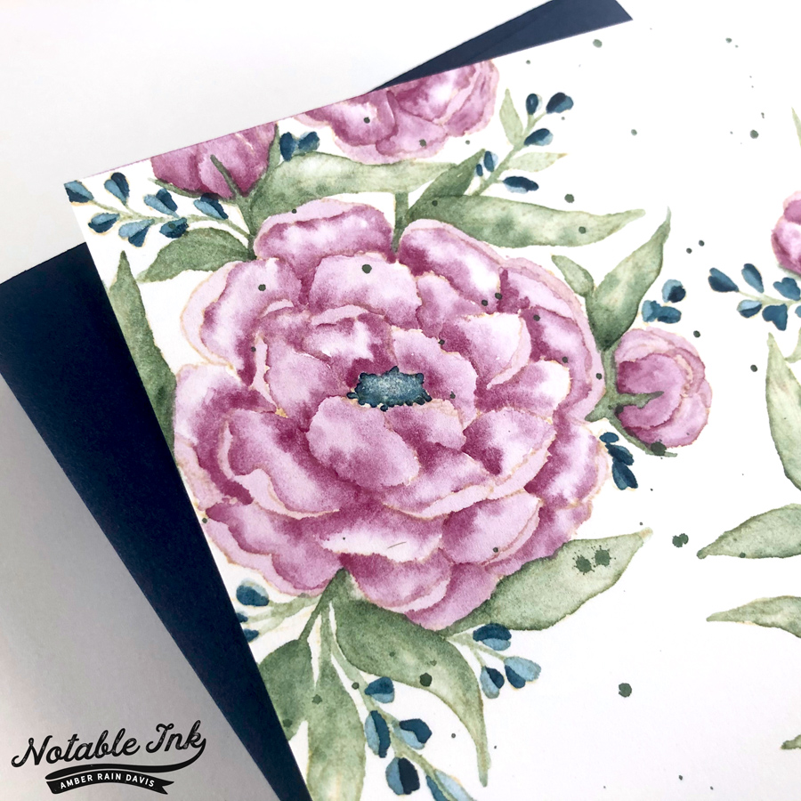 Letter Sparrow Watercolor