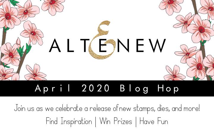 Altenew April 2020 Stamps/Dies/Stencils/Stamping Mat/Sequins Release