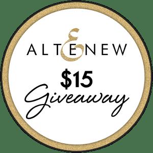 Altenew $15 Giveaway