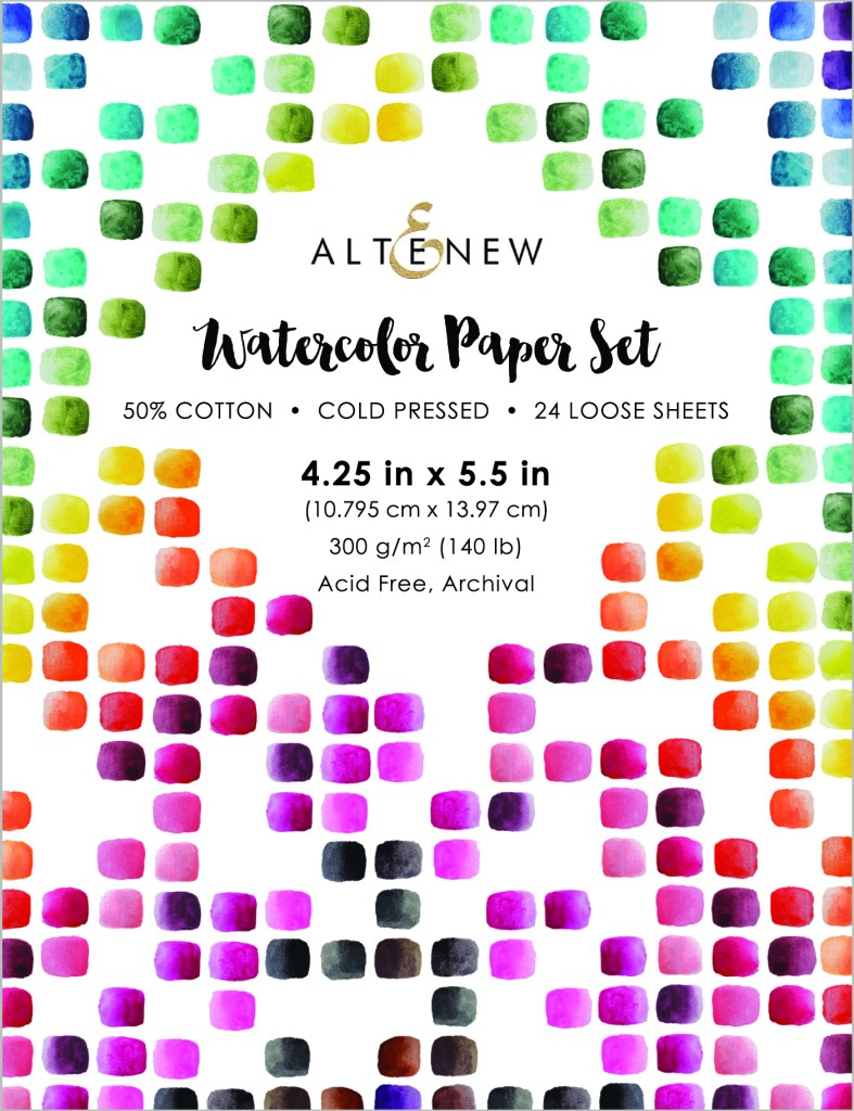 Altenew Watercolor Paper Set