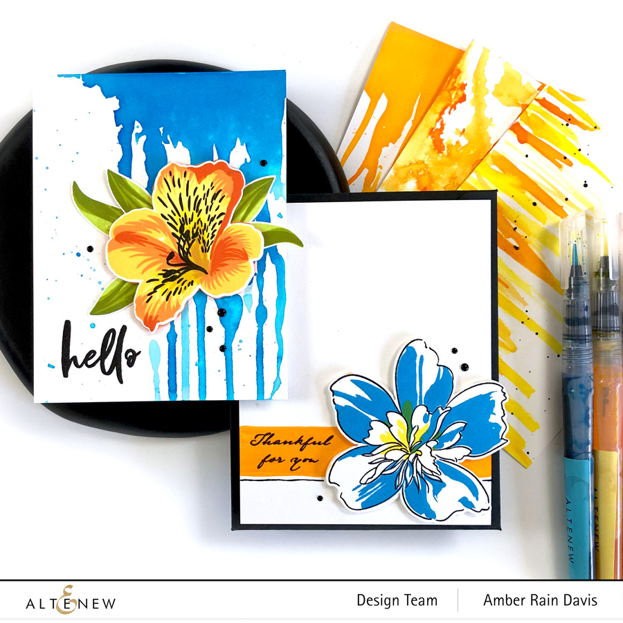 5 Eye-popping Watercolor Backgrounds | Altenew Color Connection